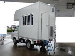 ボンゴトラック 移動販売車 キッチンカー 8ナンバー 加工車登録 走行500Km ホシザキ冷蔵庫 2槽シンク 作業台 換気扇 エアコン 天井照明 外部電源入力 ガソリン車 コラムAT 車輌総重量1,870Kg