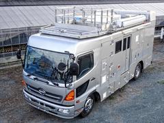 レンジャー ウォークスルー 240馬力 6MT リアエアサス PTO式4点アウトリガ 電動サイドオーニング 大型ディーゼル発電機 荷室ルーフエアコン 元検査測定車 東京特殊車体 要中型免許 車輌総重量11t未満