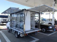 バネットトラック 冷蔵冷凍車 移動コンビニ車 移動販売車 冷凍・冷蔵車 マイナス15℃設定 荷台冷凍機作動点検済み 販売車登録 8ナンバー 三方・上下開き扉 積載650Kg コラムAT