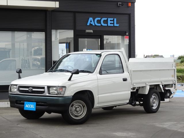 トヨタ  RZN147 リア極東パワーゲート付き フロア5速 4ナンバー 2人乗り 積載850Kg 原動機1RZ-E タイミングチェーン ガソリン車 NOx・PM適合