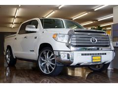 タンドラクルーマックス リミテッド 4WD ローダウン 新並1オーナ