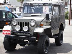 ジープキャンバストップ リフトアップ 4MT ディーゼル 4WD