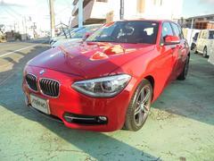 BMW116i スポーツ 純正ナビパッケージ