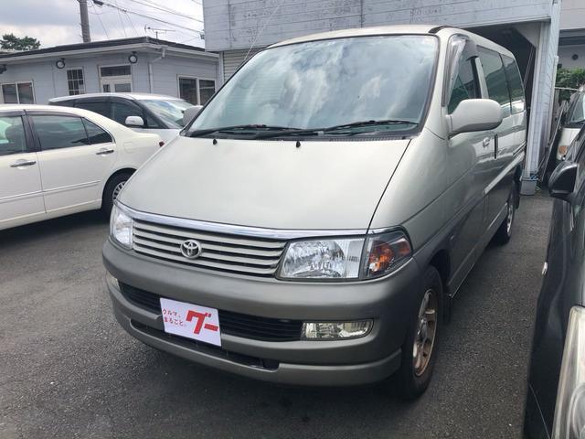 「トヨタ」「レジアス」「ミニバン・ワンボックス」「静岡県」の中古車