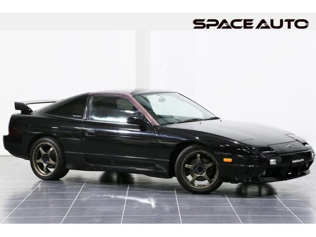 日産 180SX タイプX ターボ 後期型 純正5速MT 車高調サス