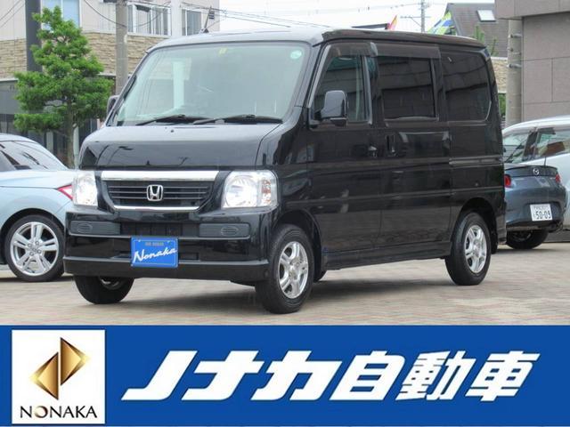 ホンダ バモス M 4WD 5速車ETC 社外ナビTV スタッドレスタイヤ付