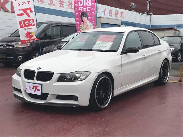 BMW 323i Mスポーツパッケージ 社外HDDナビ 19AW