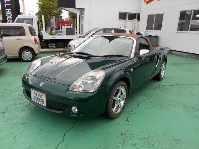 「トヨタ」「MR-S」「オープンカー」「静岡県」の中古車