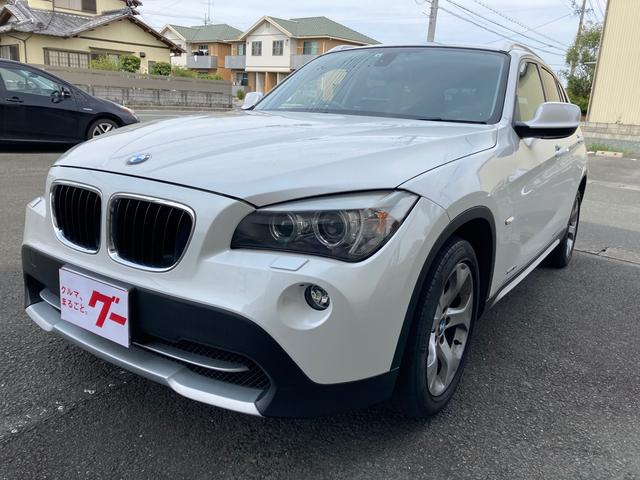 BMW X1 sDrive 18i ナビ AW オーディオ付 ETC 5名乗り ホワイト