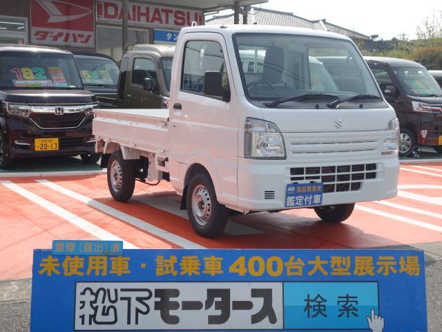 スズキ KCエアコン・パワステ/4WD/5MT/届出済未使用車