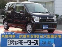 ワゴンRFA/キーレス/エアコン/ディーラー試乗車