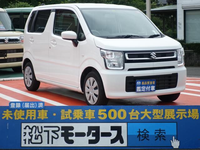 スズキ ワゴンR FA/キーレス/純正オーディオ/ディーラー試乗車