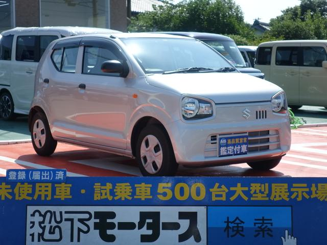 スズキ F キーレス/純正オーディオ/5MT/エアコン/パワステ/エアコン/ディーラー試乗車