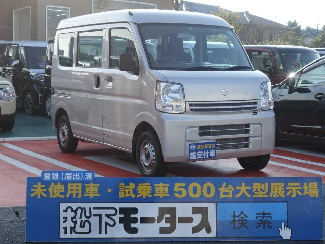 スズキ PA /4WD/4速オートマ/ハイルーフ/両側スライドドア/ディーラー試乗車