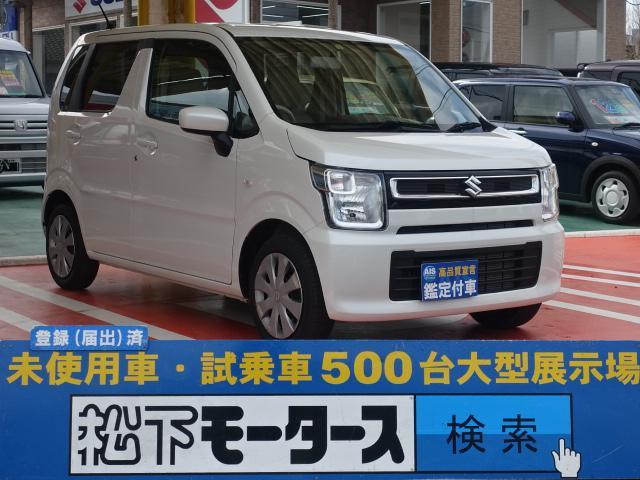 スズキ FA /キーレス/電動格納ドアミラー/CVT/エアコン/エアバック/ABS/ディーラー試乗車