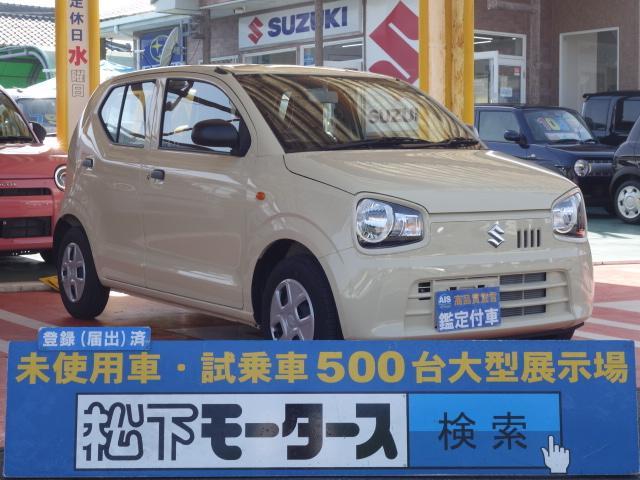 スズキ F 5速マニュアル/キーレス/エアコン/CDオーディオ/ディーラー試乗車
