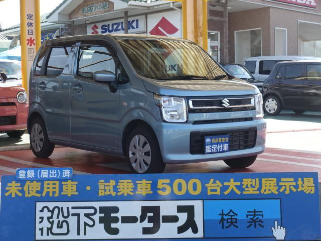 スズキ FA /キーレス/CVT/エアコン/エアバック/ABS/ディーラー試乗車