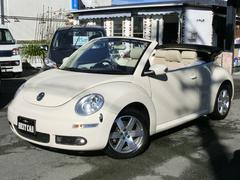 VW ニュービートルカブリオレLZ 皮シート シートヒーター ナビ地デジTV ETC