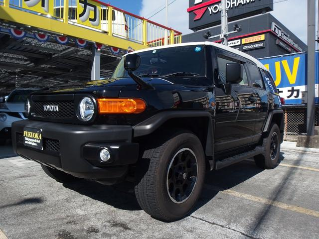 トヨタ FJクルーザー ブラックカラーパッケージ ワンオーナー クルーズコントロール フルセグTV Bカメラ ETC