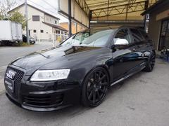 アウディ RS6アバントベースグレード 黒革シート 地デジチューナー サンルーフ