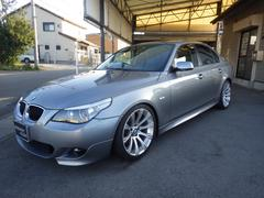 BMW530iハイラインパッケージ 黒革シート サンルーフ HID