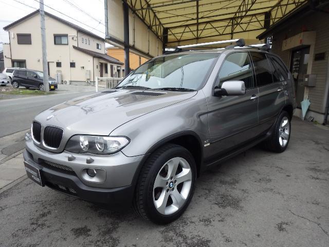 BMW 3.0i HDDナビ 黒革シート パノラマサンルーフ