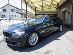 BMW750Li 後席セパレート 後席モニター サンルーフ