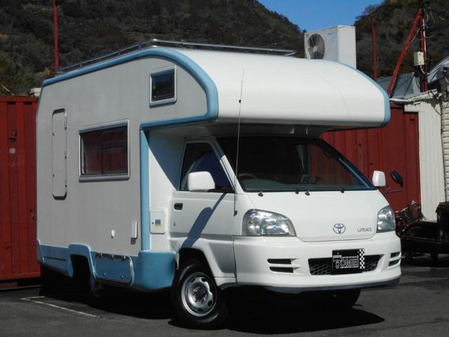 トヨタ 4WD アトム タイプB FFヒーター 冷蔵庫 水洗設備