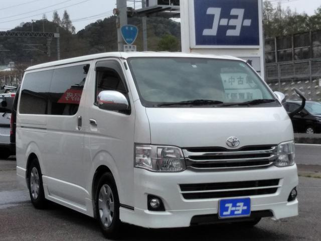 トヨタ ロングスーパーGL・社外メモリーナビ・HIDライト・フォグ