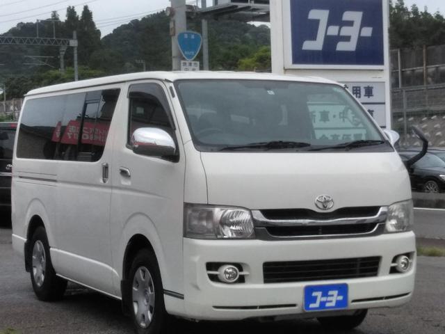 トヨタ ロングスーパーGL・HDDナビ・ETC・キーレス・フォグ