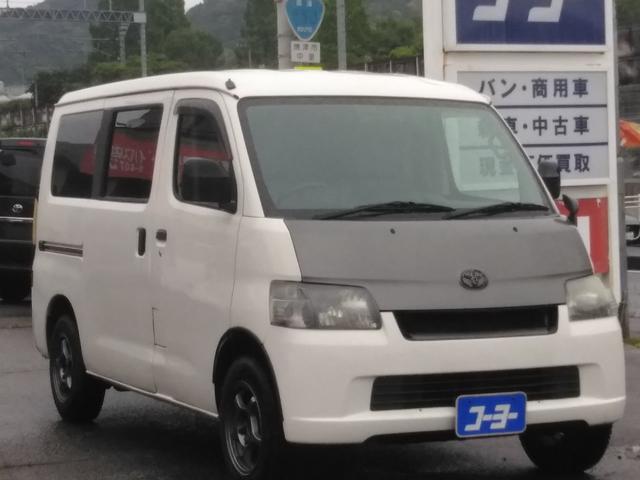 トヨタ DX・メモリーナビ・フルセグTV・社外14アルミ
