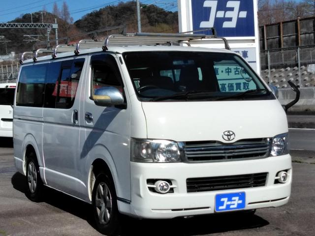 トヨタ ハイエースバン ロングDX・ETC・フォグ・キーレス・車検1年含
