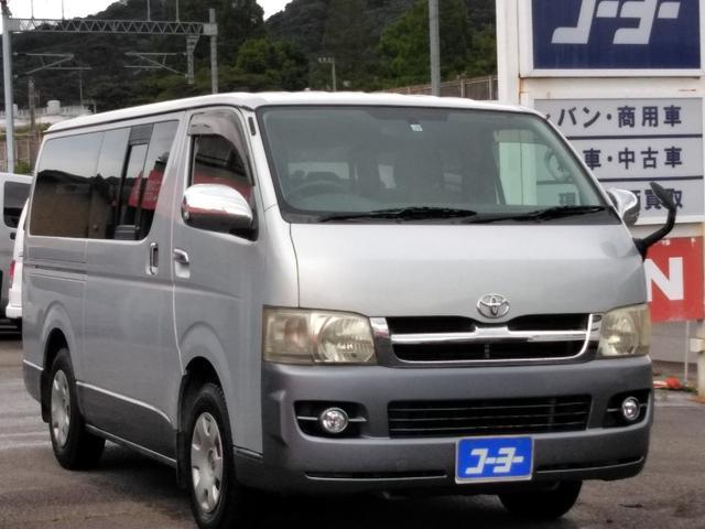 トヨタ ロングスーパーGL・純正SDナビ・ワンセグTV・ETC