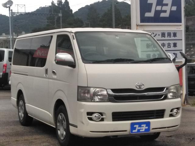 トヨタ ロングスーパーGL・純正ナビ・ETC・ワンセグTV