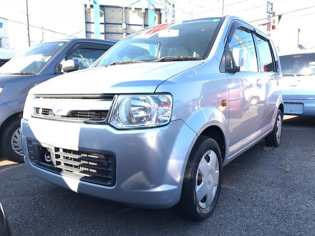 三菱 M 軽自動車 クールシルバーメタリック AT AC
