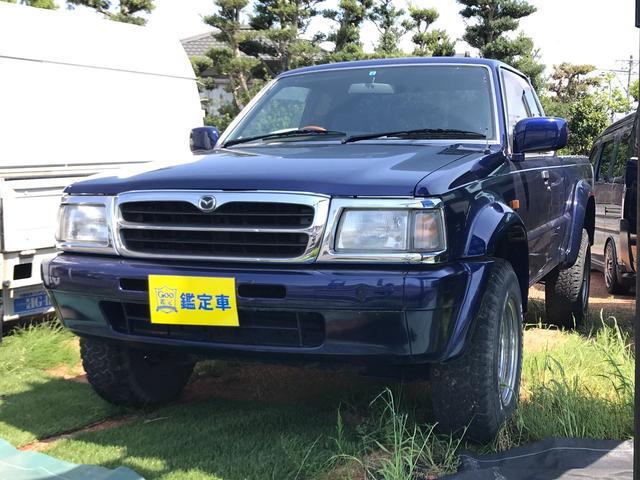 マツダ キャブプラス 4WD リフトアップ