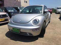 VW ニュービートルプラス 左ハンドル サンルーフ レザーシート 社外オーディオ