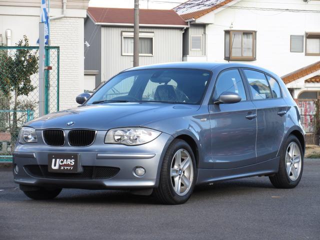 BMW 120i 純正CD AUX 純正16インチAW 禁煙車