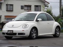 VW ニュービートルLZ サンルーフ レザーシート リヤセンサー ETC 禁煙車