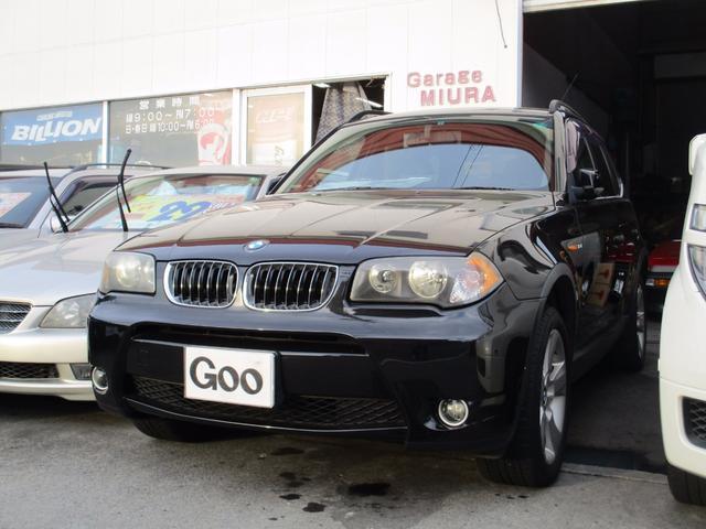 BMW 3.0iMスポーツ 本革シート 純正18AW 社外マフラー