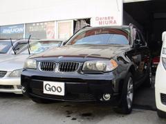 BMW X33.0iMスポーツ 本革シート 純正18AW 社外マフラー