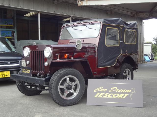 三菱 キャンバストップ J58 全塗装済み アルミ 4WD
