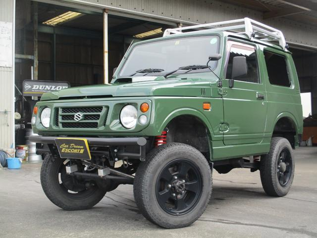 スズキ 4WD オールペイント エアコン ルーフキャリア
