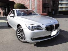 BMW760Li 左ハンドル 1オーナー,ディーラー整備車