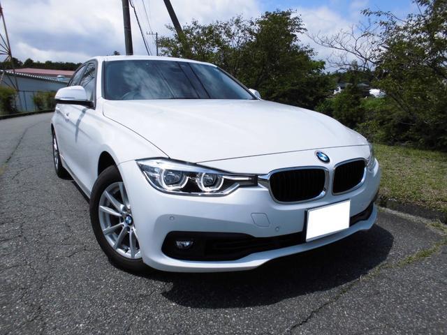 BMW 3シリーズ 318i ワンオーナー車 LEDヘッドライト インテリジェントセーフティー 純正ナビバックカメラ