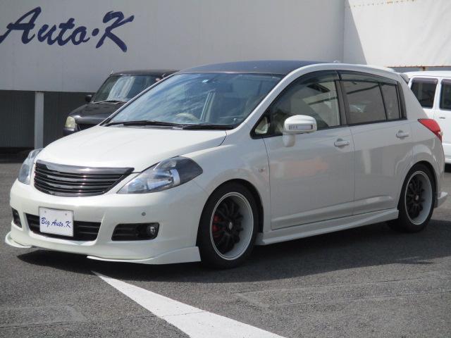 日産 15M スマートキー フルセグ ETC ナビ 車高調