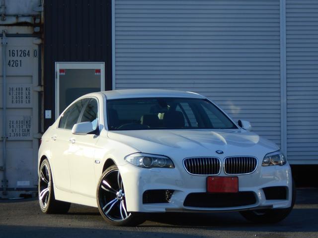 BMW 528i M5スタイル 19AW 黒革シート