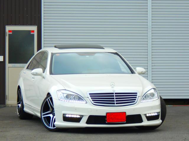メルセデス・ベンツ S500ロング 左H ラグP S65スタイル ローダウン