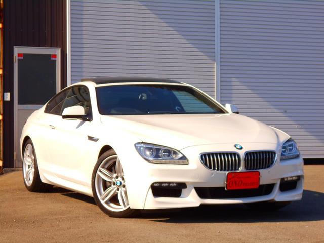 BMW 650iクーペ  Mスポーツ 黒革 サンルーフ 純正ナビ