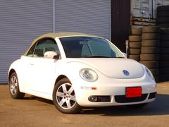 VW ニュービートルカブリオレLZ 革シート ETC